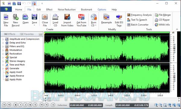 Swifturn Free Audio Editor новая версия для Windows 10, 7, 8, Xp, Vista