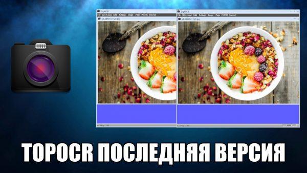 Обзор программы TopOCR на русском языке