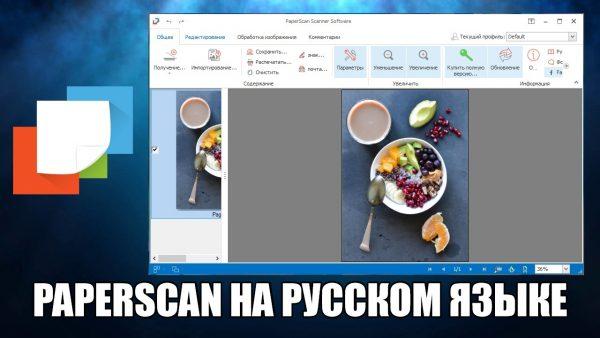 Обзор программы PaperScan на русском языке
