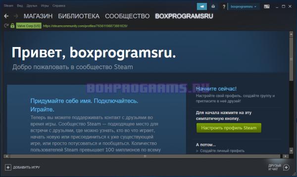 Steam новая версия программы