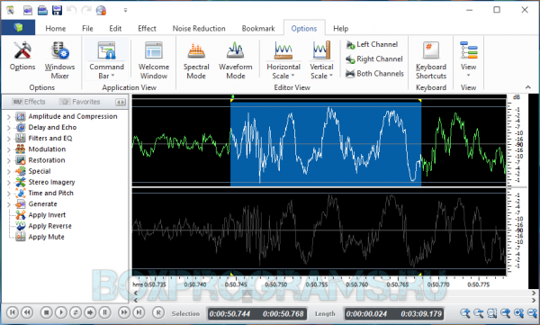 Swifturn Free Audio Editor для Windows 7, 8, 10, XP, Vista