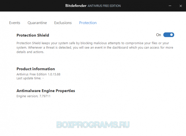 BitDefender Antivirus Free Edition для ПК