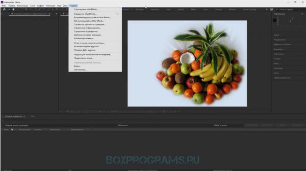Adobe After Effects новая версия