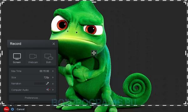 Screencast-O-Matic русская версия для Windows 10, 7, 8, Xp, Vista