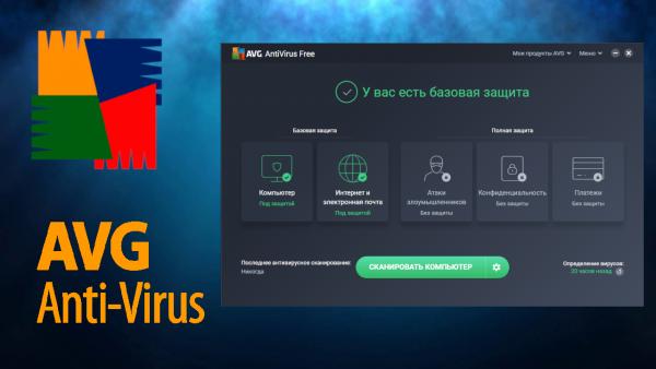 Обзор программы AVG AntiVirus Free на русском языке