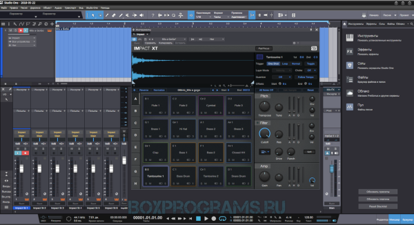 Studio One русская версия для Windows 10, 7, 8, XP, Vista