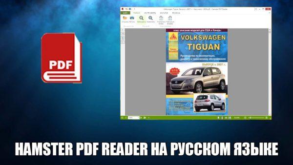 Обзор программы Hamster PDF Reader на русском языке