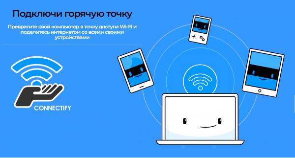 Обзор программы Connectify Hotspot на русском языке