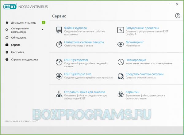 ESET NOD32 Antivirus новая версия
