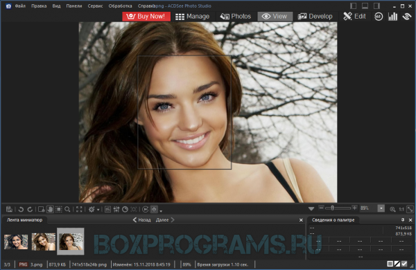 ACDSee Photo Manager русская версия