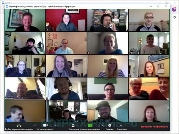 ZOOM Cloud Meetings русская версия