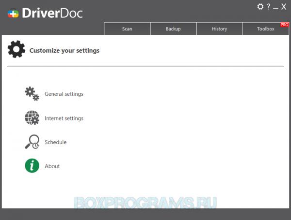 DriverDoc на ПК