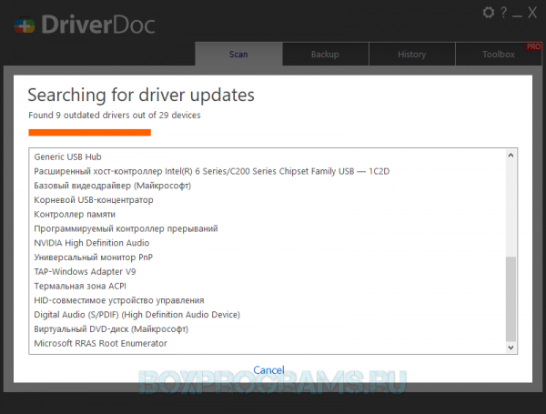 DriverDoc русска версия