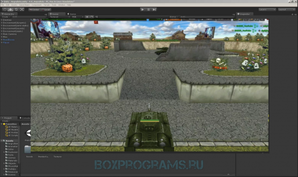 Unity Web Player на русском языке