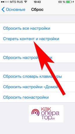 Инструкция для iPad