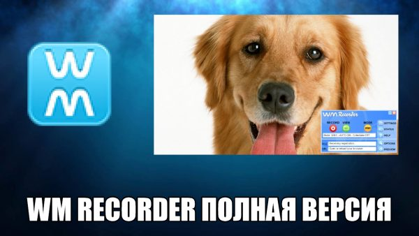 Обзор программы WM Recorder на русском языке