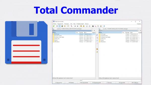 Обзор программы Total Commander русская версия