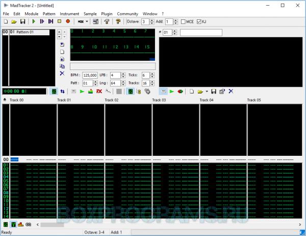 MadTracker полная версия для Windows 10, 7, 8, XP, Vista