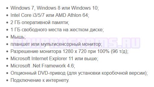Системные требования для CorelDRAW